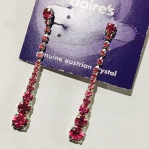{Claire's}  Austrian Crystal Drop Earrings